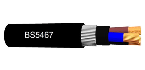 BS5467 câble Single et Multi core