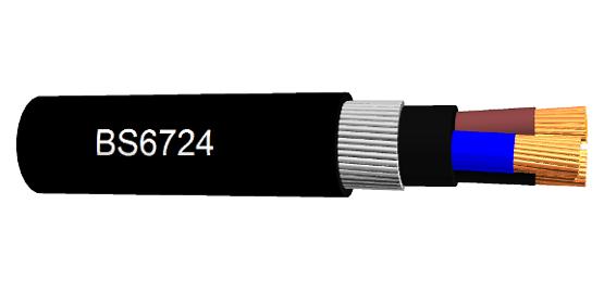 BS6724 Câble Single et Multi core