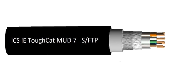 ToughCat câble 7s, 7 & 5e (MUD)