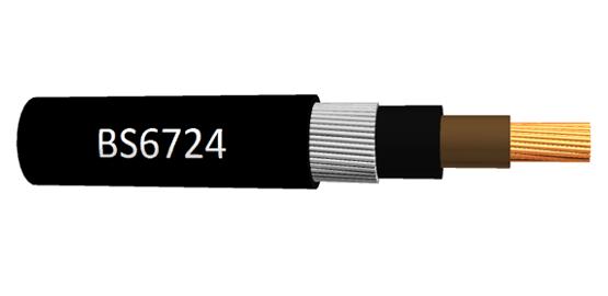 BS6724 kabels Single en Multi core