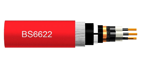 BS6622 cables Single and 3-core