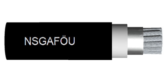 NSGAFÖU cable 1,8kV to 6kV